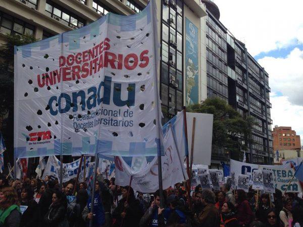 <h6>CONADU HISTÓRICA</h6> Se profundiza el deterioro salarial de la docencia universitaria y preuniversitaria