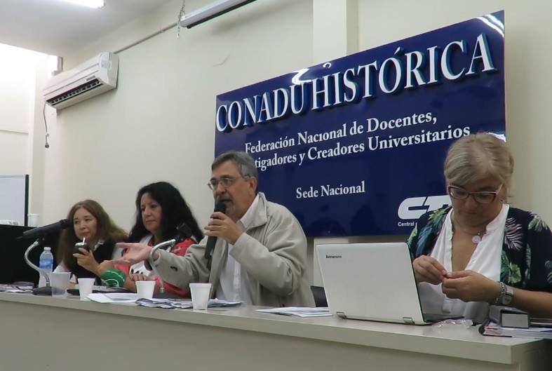 CONADU HISTÓRICA rechazó la oferta salarial y sigue el cese total de actividades