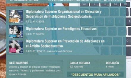 <h6>Con Resolución Ministerial y Universitaria</h6>AMET: Diplomaturas en Modalidad Virtual