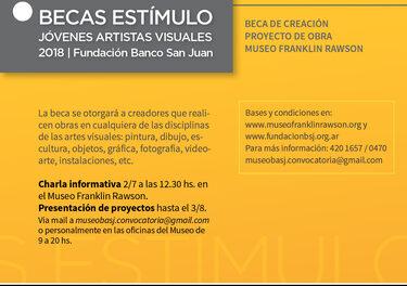 Fundación Banco San Juan presentó la décima edición del Programa de Becas de Jóvenes Artistas Visuales