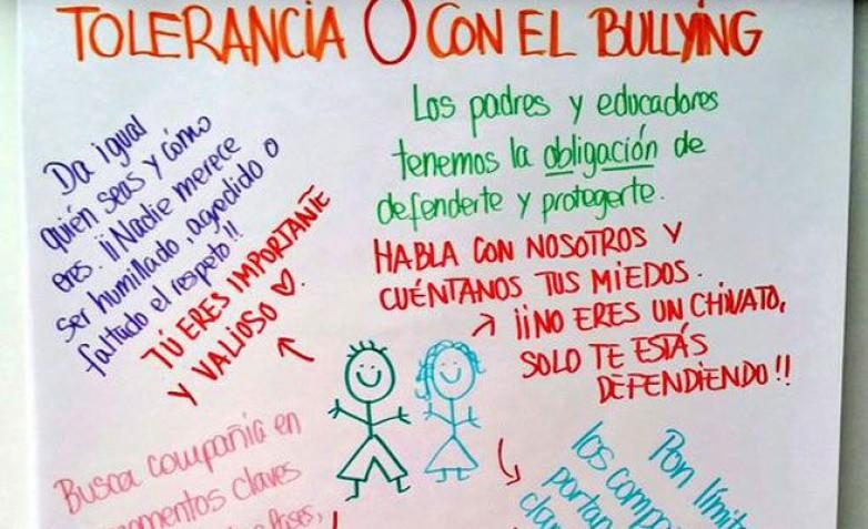 En prevención y manejo de bullying capacitarán a docentes, estudiantes y gabinetistas