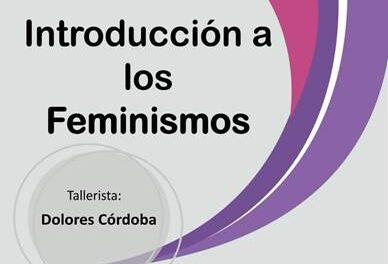 "Taller ""Introducción a los feminismos"""