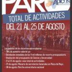 <h6>ADICUS</h6> Tercera semana de no inicio con cese total de actividades en las Universidades Nacionales