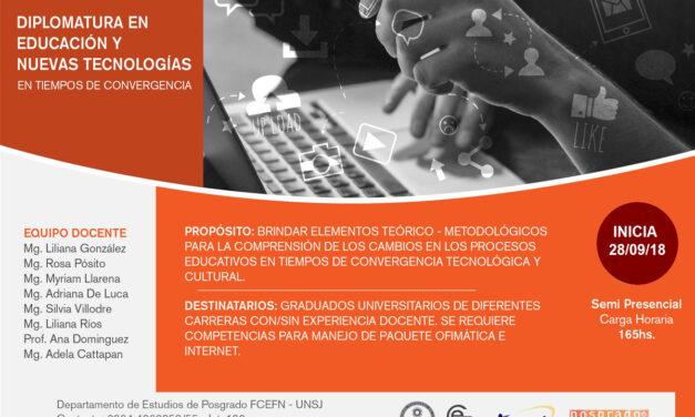 <h6>DIPLOMATURA</H6> Diseño de prácticas pedagógicas mediadas por tecnologías