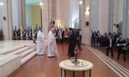 Educación Privada conmemoró su 53º aniversario con una misa y una ofrenda solidaria