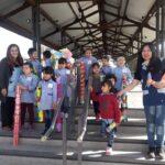 <h6>Docentes y alumnos de la Escuela Patricias Mendocinas</h6> Intervención Urbana: Susurradores