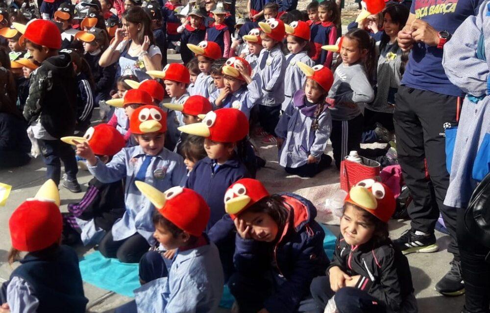 Con función de títeres y desfile, comenzó la Semana de la Educación Inicial