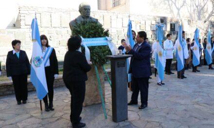 Con un acto en la Casa Natal de Sarmiento, comenzó la Semana Sarmientina