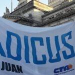 ADICUS rechaza el presupuesto nacional 2019