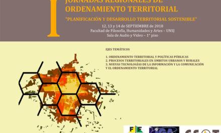 Jornadas Regionales de Ordenamiento Territorial
