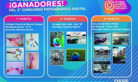 Ganadores del 2° Concurso Fotográfico Digital de OSSE San Juan