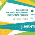 Se realizará el 4º Congreso Nacional y Provincial de Políticas Públicas