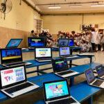 """Siete mil alumnos porteños crearon """"el videojuego más grande del mundo"""""""