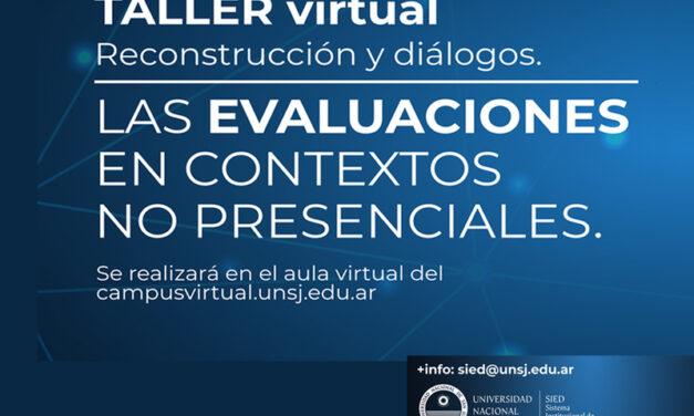 Educación y virtualidad: la evaluación en contexto no presencial