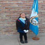 Los Granaderos saludaron a Lola y a los alumnos de la escuela Cantoni