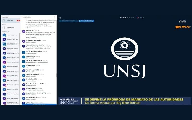 La Asamblea Universitaria prorrogó el mandato de todas las autoridades de la UNSJ