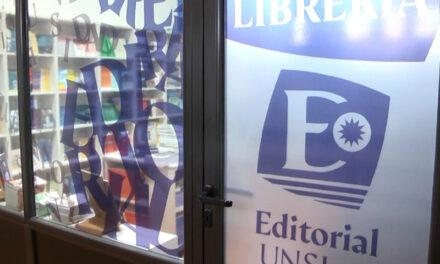 La Editorial y la Librería de la UNSJ volvieron a la actividad presencial
