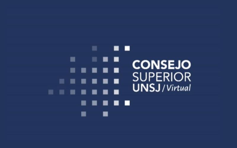 La UNSJ aprobó una propuesta unificada de desarrollo académico y un protocolo de vuelta a clases
