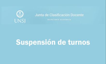 Docentes de la UNSJ: Suspenden los turnos para la Inscripción Anual 2021
