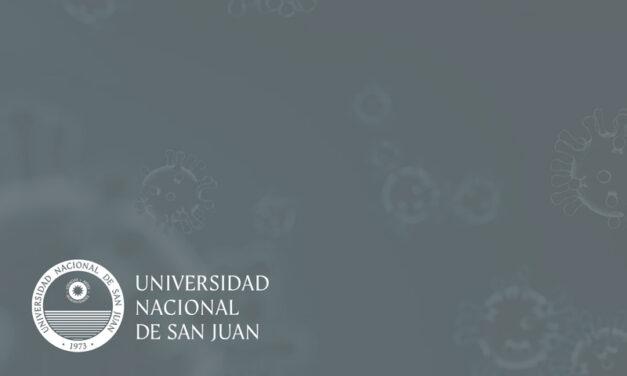 UNSJ: Cinco casos positivos y uno pendiente de resultado