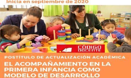 """ARID: Postítulo """"El Acompañamiento en la primera infancia como modelo de desarrollo"""""""