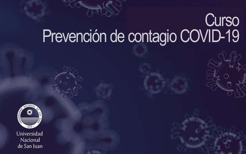 """Curso """"Prevención de contagio COVID- 19"""""""