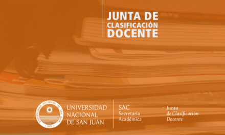 UNSJ: Se reanuda la atención de turnos en la Junta de Clasificación Docente