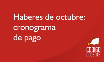 Sueldo de octubre: Calendario con aumento