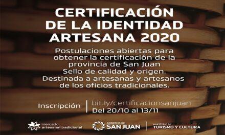 Últimos días para inscribirse en la Certificación de la Identidad Artesana