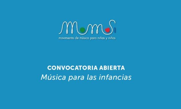"""Inscripciones abiertas para participar de la convocatoria """"Música para la niñez"""""""