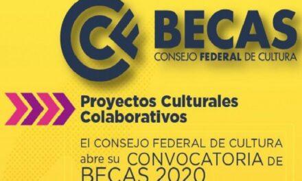 Se abre la convocatoria a las becas 2020 del Consejo Federal de Cultura y el Ministerio de Cultura de la Nación