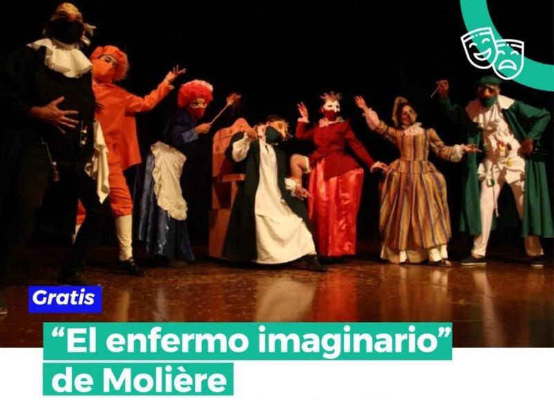 """Teatro al aire libre con """"El enfermo imaginario"""" de Molière"""