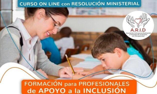 ARID: Curso DAI con aval de los Ministerios de Educación y Desarrollo Humano