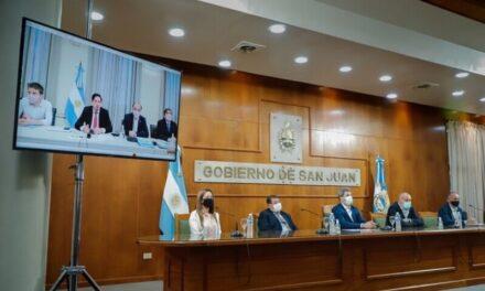 Sergio Uñac y Nicolás Trotta dan un paso clave para la ejecución de obras de 8 nuevos ENI