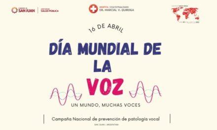 <h6>Del 12 al 16 de abril</h6><h1>Semana de la Voz: atención virtual para todos</h1>