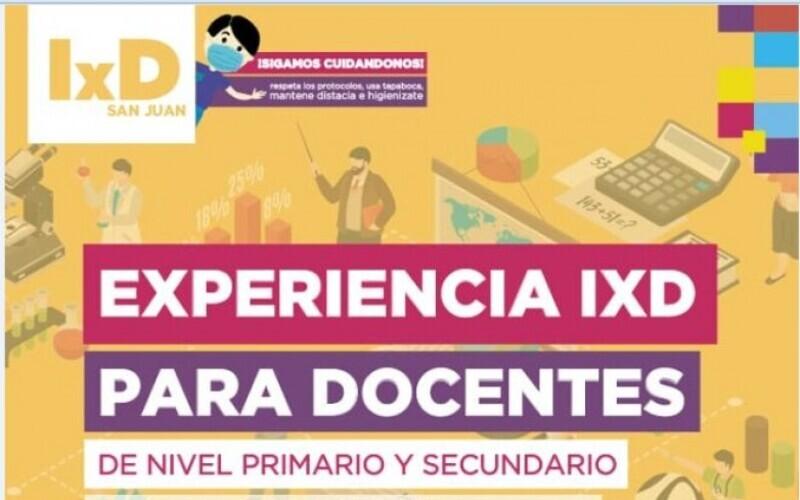 IxD: incorporó actividades para los docentes de Nivel Primario y Secundario