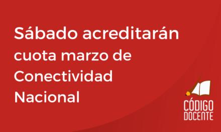 El sábado 24 acreditarán Conectividad Nacional