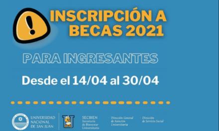 <h6>Convocatoria</h6><h1>Inician las inscripciones a becas de apoyo para el Desempeño Académico 2021</h1>